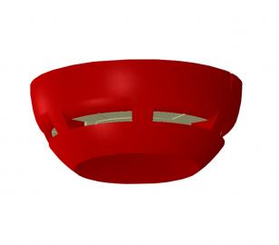 Teknim TFS-3193R Kırmızı yangın alarm flaşörü