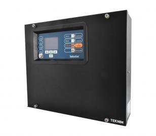 TFP-908 8 Bölgeli Genişletilebilir Konvansiyonel Yangın Alarm Paneli - LCD Ekran