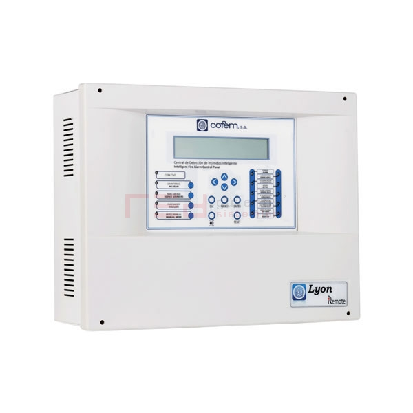 Cofem 6 Loop Adreslenebilir Yangın Alarm Paneli LYONRM06