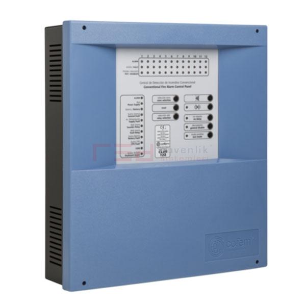 Cofem CLVR 08Z 8 Zone Konvansiyonel Yangın Alarm Paneli