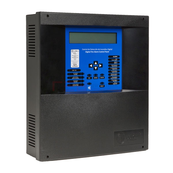 Cofem Compact CLYON02B 2 Loop Akıllı Adreslenebilir Yangın Alarm Paneli