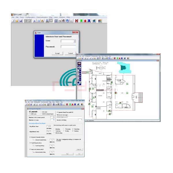 Cofem Easyonline Grafik Arayüzlü Kontrol Yazılımı
