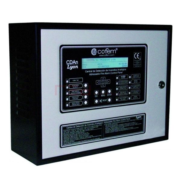 Cofem LYON06 Adreslenebilir 6 loop Yangın Alarm Paneli