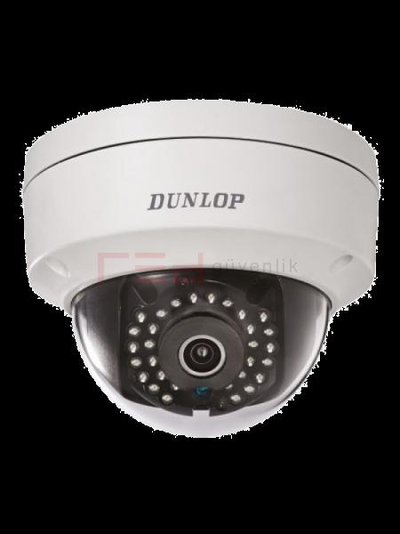2MP Dome Kamera (H.265+, Ses Girişli)