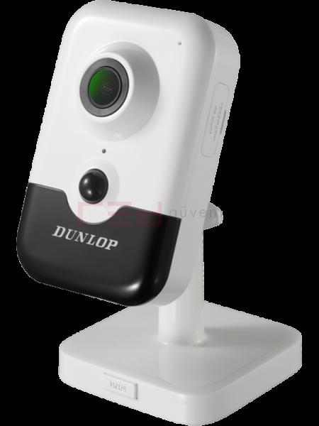 2MP Kablosuz Küp IP Kamera 10 metre IR (Dahili Mikrofon, Hoparlör & PIR ) (H265+)