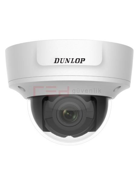 2MP Motorize Dome IP Kamera 30metre IR (H.265+) (Ses & 2x Alarm)