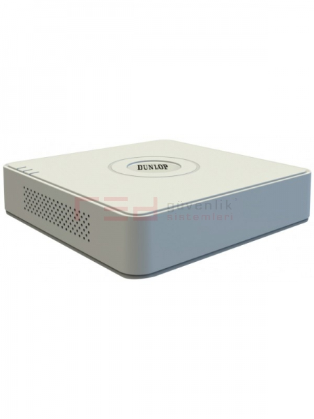 Dunlop HD-TVI & AHD & HDCVI Kayıt Cihazı, 1 SATA ( 1080P LITE Serisi)