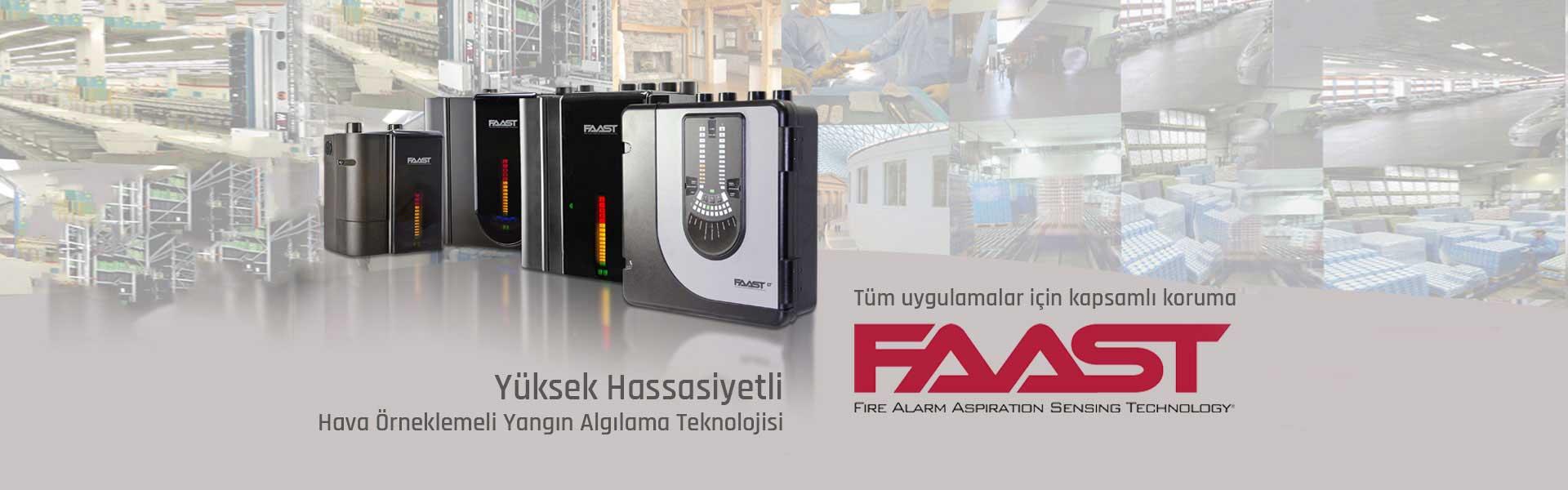 Faast Yangın Algılama Teknolojisi