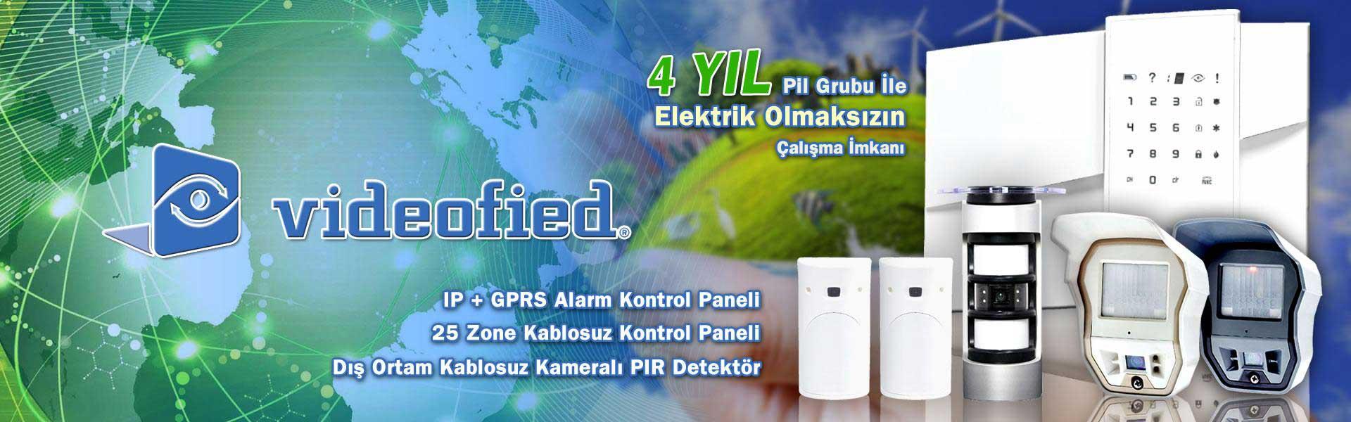 Videofied Gps Alarm Kontrol Sistemleri